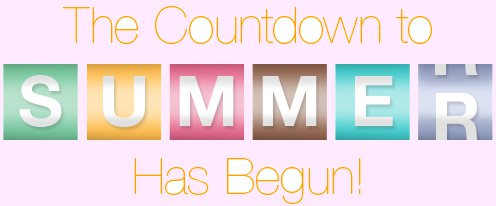 Image result for summer countdown clipart