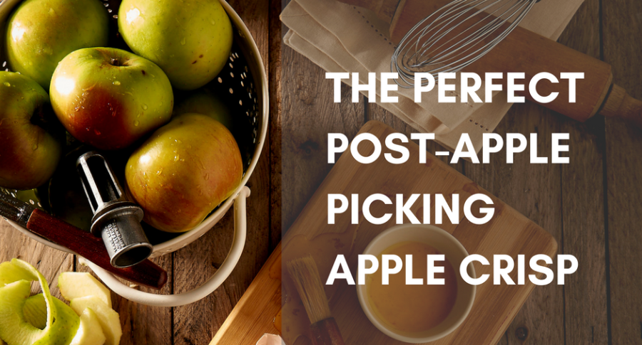 The Perfect Post-Apple Picking Apple Crisp
